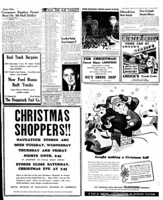Naugatuck Daily News from Naugatuck, Connecticut on December 19, 1949 · Page 7