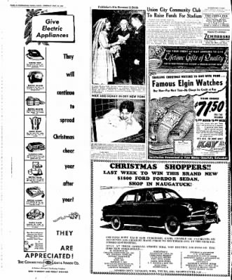 Naugatuck Daily News from Naugatuck, Connecticut on December 20, 1949 · Page 4