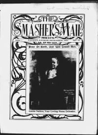 Sample The Smasher's Mail front page