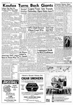 Logansport Pharos-Tribune from Logansport, Indiana on May 22, 1962 · Page 7