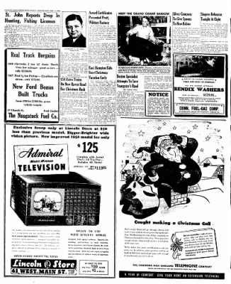 Naugatuck Daily News from Naugatuck, Connecticut on December 21, 1949 · Page 16