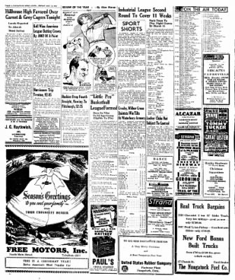 Naugatuck Daily News from Naugatuck, Connecticut on December 23, 1949 · Page 6