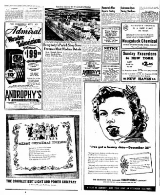 Naugatuck Daily News from Naugatuck, Connecticut on December 23, 1949 · Page 8