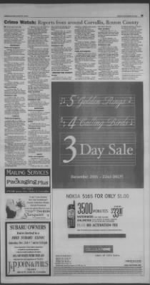 Corvallis Gazette-Times from Corvallis, Oregon on December 20, 2002 · 25