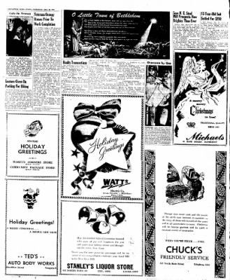 Naugatuck Daily News from Naugatuck, Connecticut on December 24, 1949 · Page 10