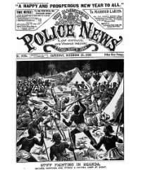 Sample The Illustrated Police News, etc. front page