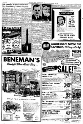 Cumberland Sunday Times from Cumberland, Maryland on March 31, 1957 · Page 30