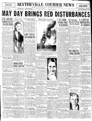 The Courier News from Blytheville, Arkansas on May 1, 1931 · Page 1
