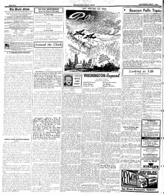 Naugatuck Daily News from Naugatuck, Connecticut on July 1, 1944 · Page 4