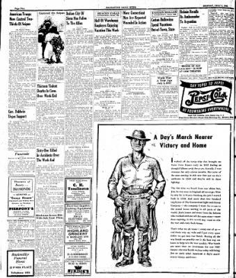 Naugatuck Daily News from Naugatuck, Connecticut on July 3, 1944 · Page 2