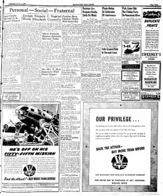 Naugatuck Daily News from Naugatuck, Connecticut on July 3, 1944 · Page 3