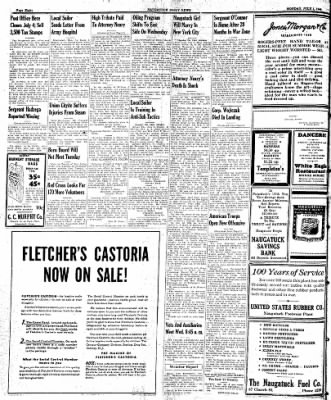 Naugatuck Daily News from Naugatuck, Connecticut on July 3, 1944 · Page 8