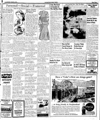 Naugatuck Daily News from Naugatuck, Connecticut on July 5, 1944 · Page 3