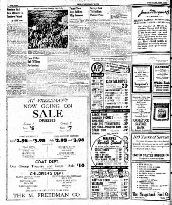 Naugatuck Daily News from Naugatuck, Connecticut on July 6, 1944 · Page 8