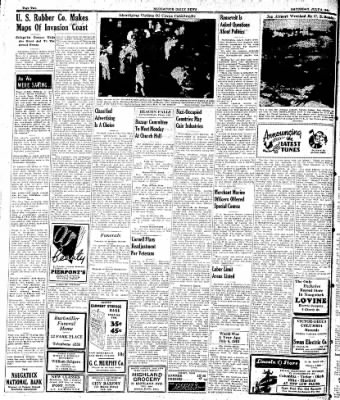 Naugatuck Daily News from Naugatuck, Connecticut on July 8, 1944 · Page 2