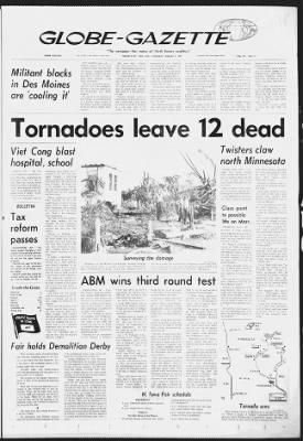 Globe-Gazette from Mason City, Iowa on August 7, 1969 · 1