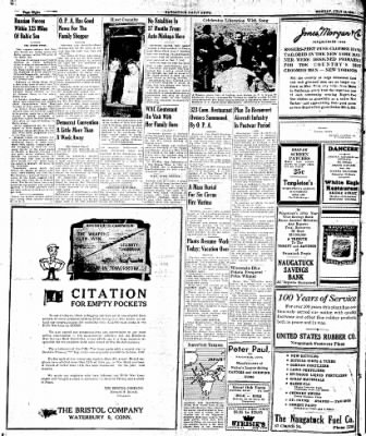 Naugatuck Daily News from Naugatuck, Connecticut on July 10, 1944 · Page 8