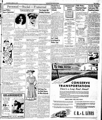 Naugatuck Daily News from Naugatuck, Connecticut on July 11, 1944 · Page 3