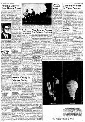 Logansport Pharos-Tribune from Logansport, Indiana on June 4, 1962 · Page 6