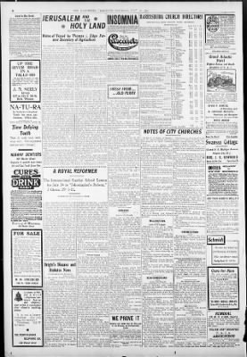 Harrisburg Telegraph from Harrisburg, Pennsylvania on July 23, 1904 · Page 6