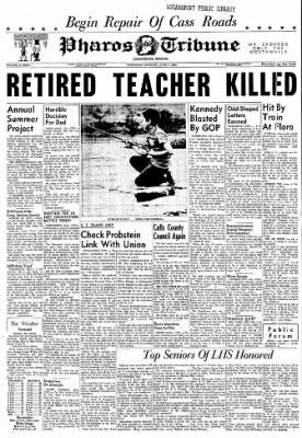Logansport Pharos-Tribune from Logansport, Indiana on June 7, 1962 · Page 1