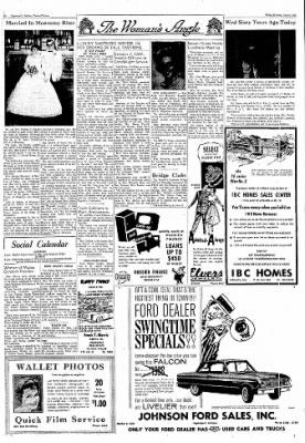 Logansport Pharos-Tribune from Logansport, Indiana on June 8, 1962 · Page 6