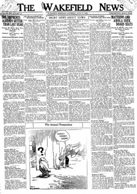 The Wakefield News from Wakefield, Michigan on June 17, 1933 · Page 1