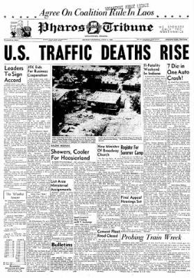 Logansport Pharos-Tribune from Logansport, Indiana on June 11, 1962 · Page 1