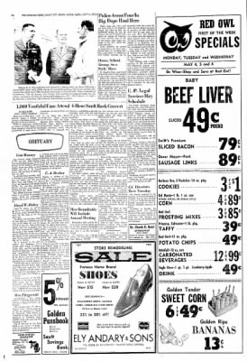 The Evening News from Sault Sainte Marie, Michigan on May 4, 1970 · Page 14