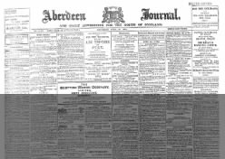Aberdeen Journal, and General Advertiser for the North of Scotland
