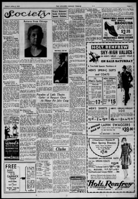 The Winnipeg Tribune from Winnipeg, Manitoba, Canada on April 2, 1937 · Page 7