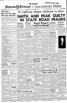 Logansport Pharos-Tribune from Logansport, Indiana on November 3, 1957 · Page 29
