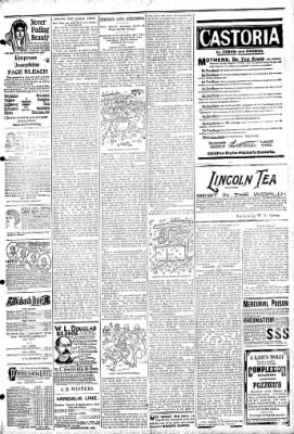 Logansport Pharos-Tribune from Logansport, Indiana on March 1, 1895 · Page 7