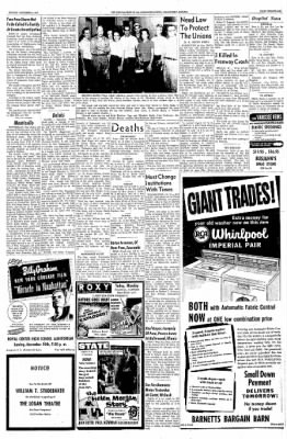 Logansport Pharos-Tribune from Logansport, Indiana on November 3, 1957 · Page 49