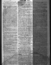 Copy of the Declaration of Independence printed in a Pennsylvania newspaper in July 1776