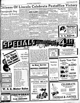 Logansport Pharos-Tribune from Logansport, Indiana on July 1, 1935 · Page 8