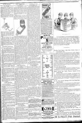 Logansport Pharos-Tribune from Logansport, Indiana on March 14, 1891 · Page 2