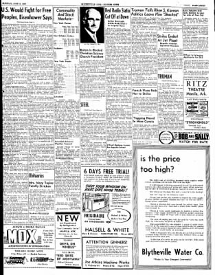 The Courier News from Blytheville, Arkansas on June 3, 1952 · Page 7