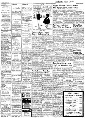 Logansport Pharos-Tribune from Logansport, Indiana on November 10, 1957 · Page 111