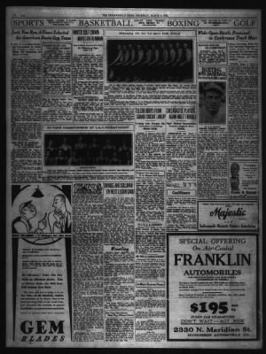 The Indianapolis News from Indianapolis, Indiana on March 6