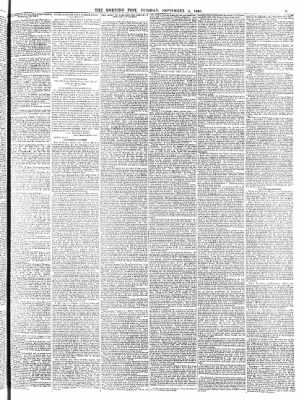 The Morning Post from London, Greater London, England on September 5, 1865 · 3