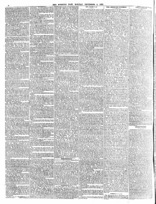 The Morning Post from London, Greater London, England on December 2, 1872 · 6