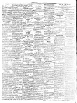 Leicester Chronicle or Commercial and Leicestershire Mercury from Leicester, on November 26, 1853 · 2
