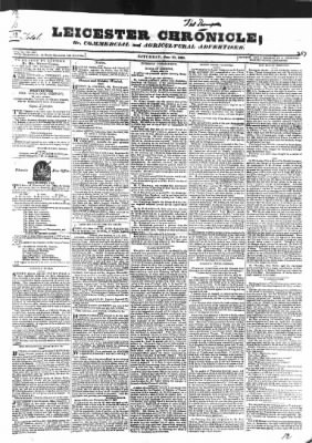 Leicester Chronicle or Commercial and Leicestershire Mercury from Leicester, on June 20, 1829 · 1