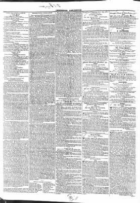 Leicester Chronicle or Commercial and Leicestershire Mercury from Leicester, on October 31, 1829 · 2