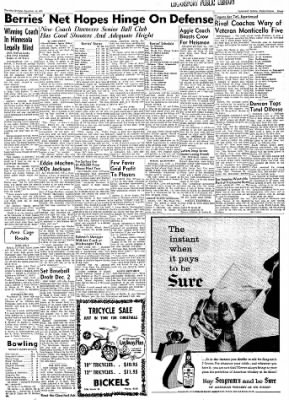 Logansport Pharos-Tribune from Logansport, Indiana on November 14, 1957 · Page 31