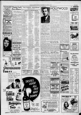 Wilkes Barre Times Leader The Evening News Record From Pennsylvania On June 27 1951 17