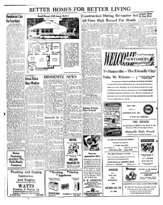 Statesville Daily Record from Statesville, North Carolina on February 6, 1951 · Page 2