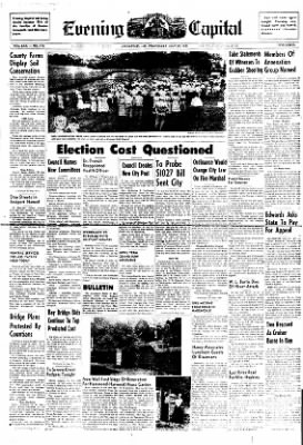 The Capital from Annapolis, Maryland on July 20, 1949 · Page 1