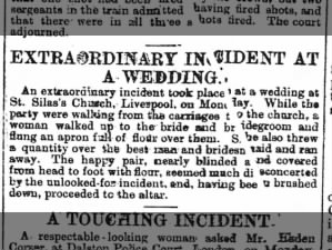 Extraordinary Incident At A Wedding